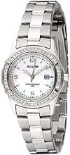 Comprar Accurist LB1540P - Reloj de cuarzo para mujeres, correa de acero inoxidable, color plateada