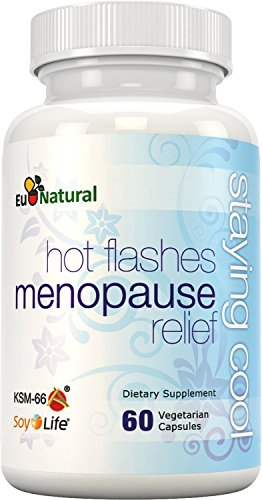 Staying Cool for Hot Flashes & Menopause Relief - Extra Strength for Night Sweats, Mood Swings, Weight Gain, Sleep, and Dryness - Vitex & Black Cohosh - 60 Vegetarian Soft Capsules (Hot Flash Remedy compare prices)