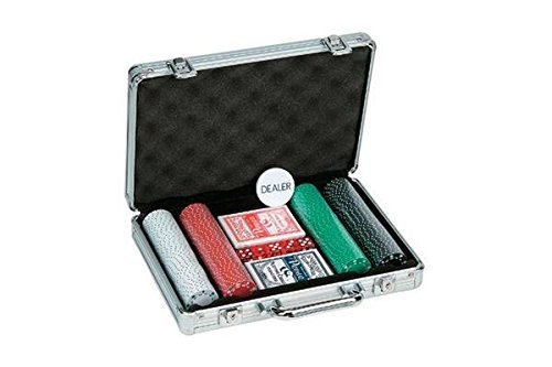 Poker Set with Aluminum Case (200 Piece), 11.5g by Getting Fit