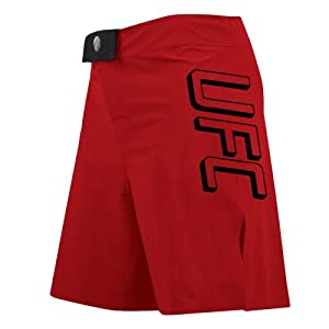 UFC Men's Submission Training Shorts, Red, 34