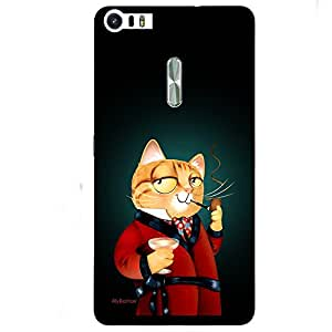 Night Drees With Cat - Mobile Back Case Cover For Asus Zenfone 3 Ultra (ZU680KL)