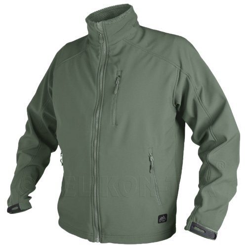 Helikon Delta Jacket Fleece Lined Urban Tactical Line Mens Polar Airsoft Foliage