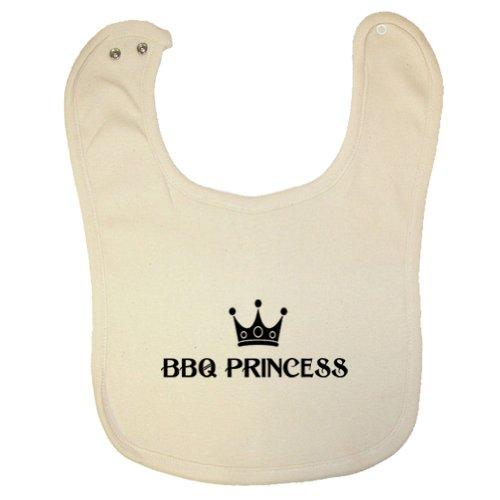 Tasty Threads BBQ Princess Organic Baby Bib