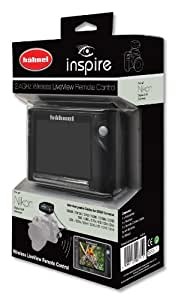 Hahnel Inspire 3.5-inch Wireless LiveView Remote Control with Built-in CMOS Camera for Nikon DSLRs