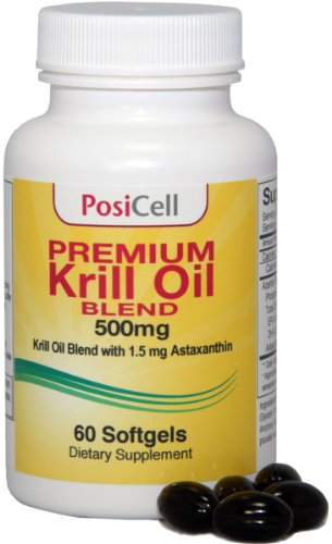 Mélange huile de krill Azantis Premium avec