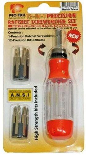 Pro-Tech-Professional-12-in-1-Precision-Ratchet-ScrewDriver-Set