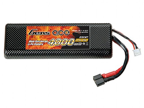 Gens ace 4000mAh 7.4V 25C 2S1P Hardcase Lipo Akku Pack for FPV Racing Quadcopters Diverse Racing Cars, Helikopter, Flugzeuge und Modellboote