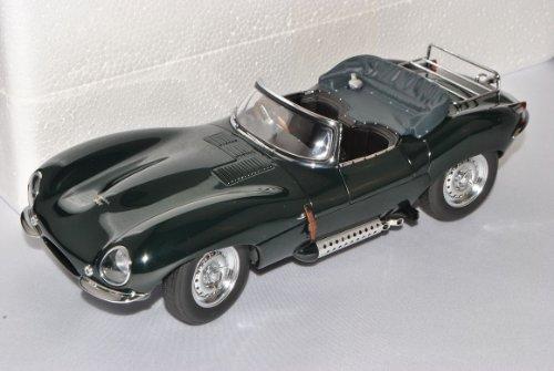 Jaguar XK-SS 1956 Grün Steve McQueen´s Private 73519 73526 1/18 AutoArt Modell Auto mit individiuellem Wunschkennzeichen