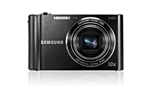 Samsung ST200 Compact Camera - Black (16MP, 10x Optical Zoom) 3 inch LCD Screen