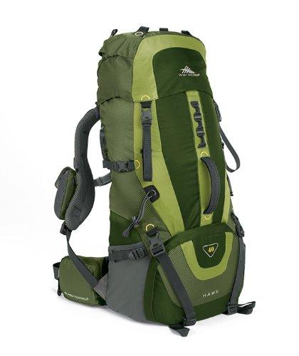 High Sierra Hawk 40 Frame Pack Amazon/Pine/Leaf front-686216
