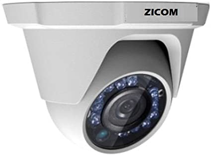 zicom Z.CC.CA.IRDO.720TV55C.20MT 720TVL IR Dome CCTV Camera