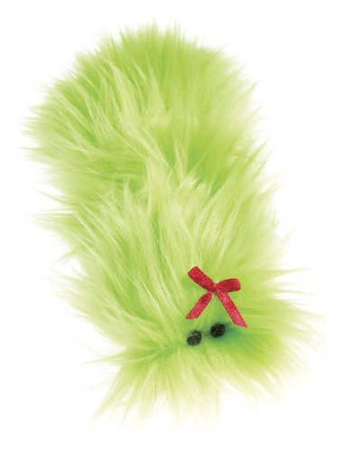 West Paw Design Sally Catnip-Filled Cat Toy with Bell, Lime