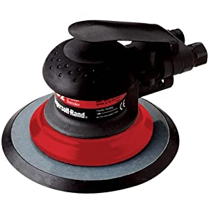 Ingersoll Rand IR-4152-HL Composite 6-Inch Orbital Palm Pnuematic Sander with Hook and Loop Pad