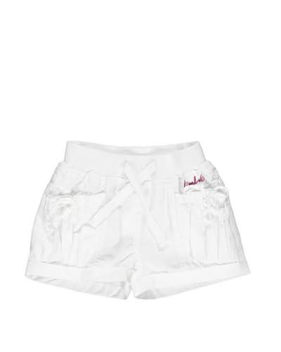 Bimbus Shorts Popeline [Optical Bianco]