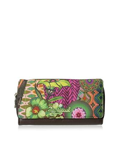 Desigual Women's Indie Ishburi Long Wallet, Multicolor