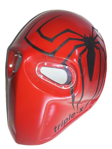 Spiderman Airsoft Mask Army of two BB Gun Paint Ball Mask DJ Outdoor Protective Gear Cosplay