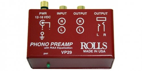 rolls VP29 Phono Preamp (Turntable Preamp compare prices)