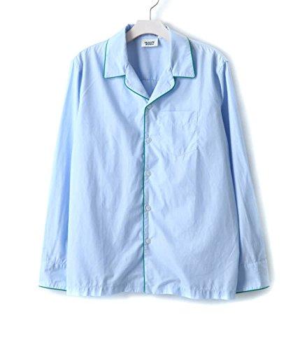 SLEEPY JONES [スリーピージョーンズ] / henry pajama shirt(core) (パジャマ シャツ ルームウェア) XS ブルー