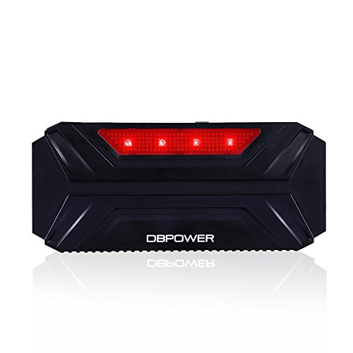 DBPOWER 600A Peak 16500mAh Portable Car Jump Starter DJS30 Auto Battery Phone Laptop Power Bank