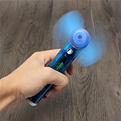1PCS Portable Handhold Cooling Fan Water gun Fan Battery Powered For Indoor Outdoor Sport Game