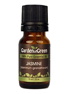 Jasmine Essential Oil (100% Pure and Natural, Therapeutic Grade) from Garden of Green