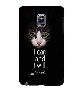 PrintVisa Quotes & Messages Attitude 3D Hard Polycarbonate Designer Back Case Cover for Samsung Galaxy Note Edge