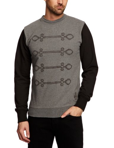 Bolongaro Trevor Waterloo Men's Jumper Charcoal Black Large