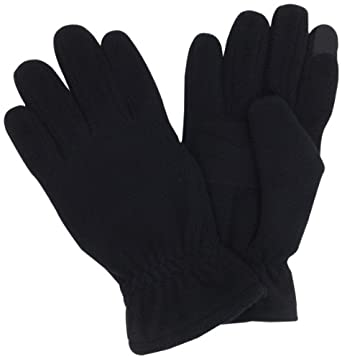 Echo Design Men's Touch Glove, Black, Medium
