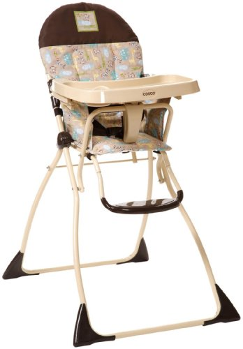 cosco slim fold high chair kontiki b00auizg06