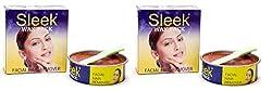 Sleek Pack-Facial Hair RemoverPack of 2(each-80g)