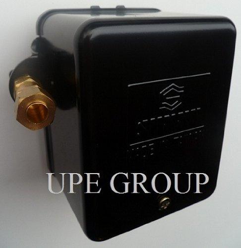 New Pressure Switch For Air Compressor 140-175 Psi W/ Metal Enclosure & Unloader Replaces 69Hau1 Furnas Siemens