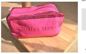 VICTORIA'S SECRET SEQUIN COSMETIC makeup bag BEAUTY BAG