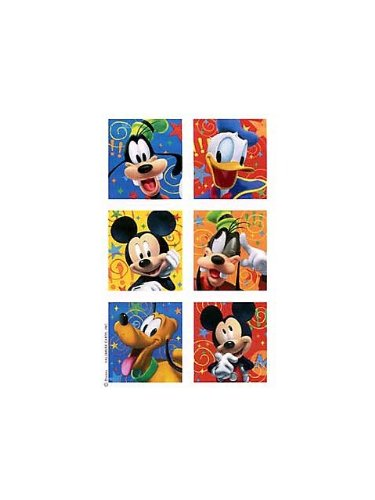 Mickey and Friends Stickers 4pk - 1