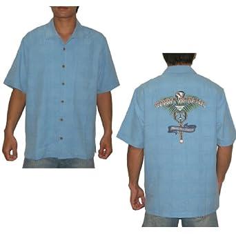 Tommy bahama health care reform mens 4xb short sleeve silk for Mens silk shirts amazon
