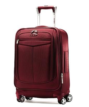 "Samsonite Silhouette 12 22"" Spinner Luggage Red"