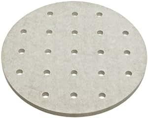 Bel-Art Scienceware 420380140 High Heat Minerit HD Desiccator Plate, 14cm Diameter x 4.8mm Thick
