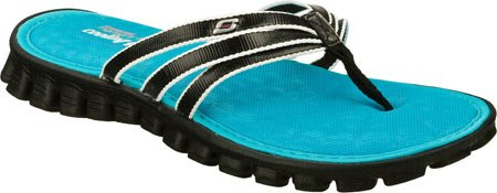 Skechers Women'S Sport Active Sandal, Black, 8 M Us front-933720