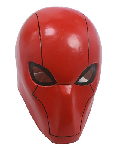 XCOSER UTRH Mask Helmet Red Hood Mask for Movie cosplay Adult