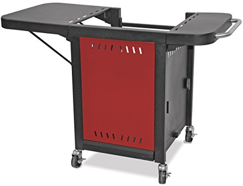 Mr. Pizza ZOC1509M Pizza Oven Grill Cart, Red/Black Home