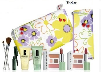 2013 New Macy's Clinique (Violets) 8 Pcs Spring