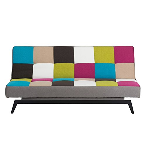 schlafsofa bunt multicolor bettsofa g stebett bettcouch schlafcouch sofa couch bett kindersofa. Black Bedroom Furniture Sets. Home Design Ideas