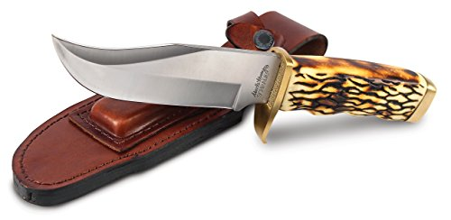 Uncle Henry 171UHCP Large Pro Hunter Rat Tail Tang Fixed Blade Knife