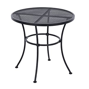 Living Accents Seville Wrought Iron Bistro Table by Living Accents