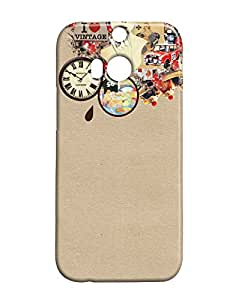 Pickpattern Hard Back Cover for HTC One M/8