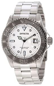 Invicta Men's 12838 Pro Diver Automatic Silver Dial Watch