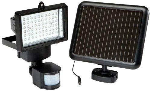 Creative Motion Super Bright 60 Led Garage Sensor Security Solar Light