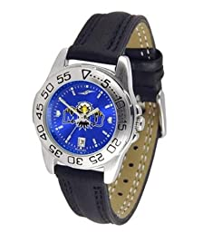 Morehead State University Ladies Leather Band Sports Watch