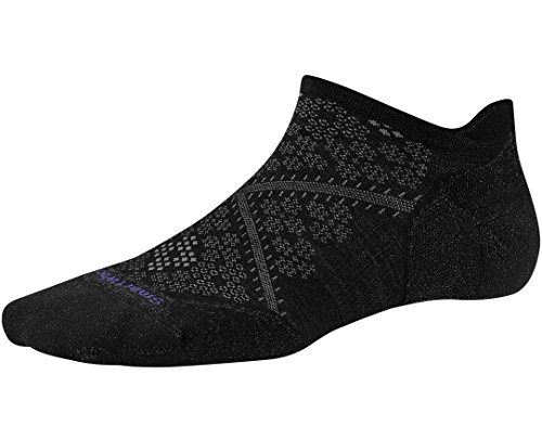 Smartwool Women's PhD Run Light Elite Micro Socks (Black) Medium (Low Profile Exercise Equipment compare prices)