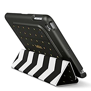 Belkin Reversible Cover for iPad mini 3, iPad mini 2 and iPad mini,Black Stripe(F7N307btC00) from Belkin Inc.