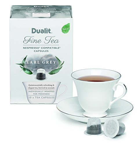 Choose Dualit Fine Tea Nespresso Compatible Capsules Earl Grey Pack Of 10 from Dualit